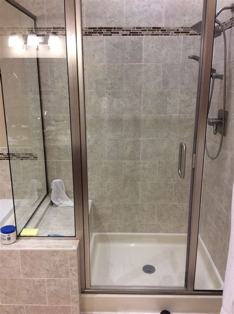45 Best Small Bathroom 60x30 Shower Images On Pinterest Bathroom Shower Stalls With Seat