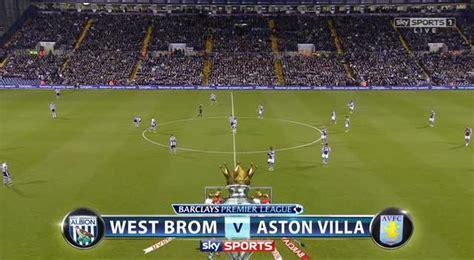 futbol epl west bromwich albion vs aston villa 2511