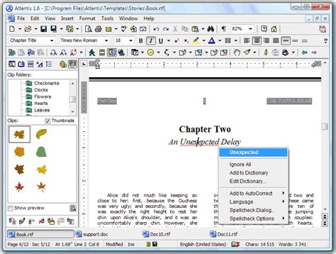 layout in word processing word processing software used to create edit format