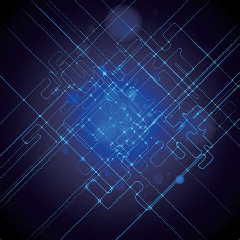 background pattern technology abstract blue science technology background free