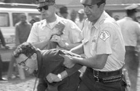 Bernie Sanders Criminal Record Photo Of Bernie Sanders Being Arrested In 1963 Chicago Protest Boing