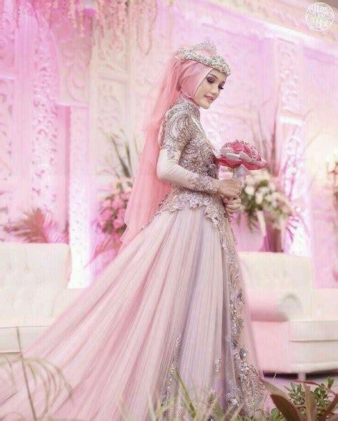 desain gaun akad nikah ッ 40 gaun pengantin muslimah edisi terbaru 2018 fashion