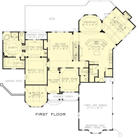 Floor Plan Designs The Ashton Manor House Plans First Floor Plan House