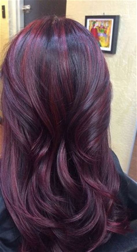 plumb colour hairstyles everything you need to know about plum hair