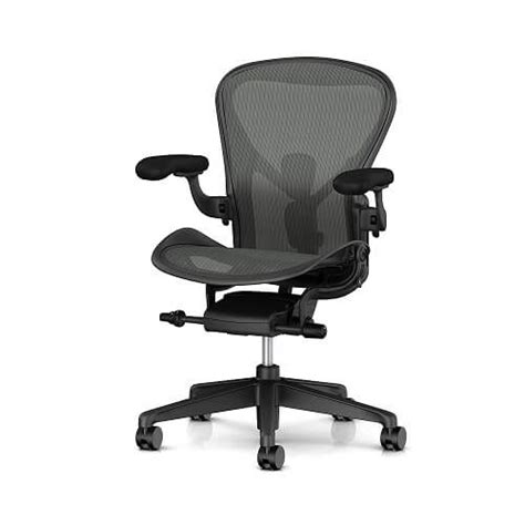 Aeron Chair Review by Herman Miller Aeron Task Chair Review Myergonomicchair