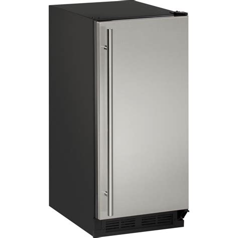 under cabinet ice maker with pump uclr1215s40a u line 15 quot built in ice maker pump clear