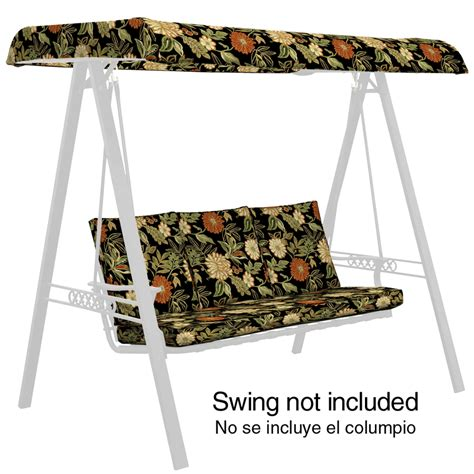 swing cushions outdoor outdoor swing cushions on shoppinder