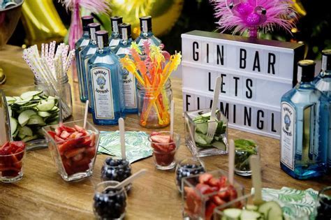 Party Decor: How To Create Your Very Own Gin Bar