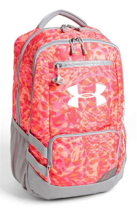 under armoir backpack under armour hustle backpack in multicolor layer camo