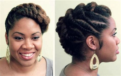 pics of formal flat twist updos formal natural hairstyles hair