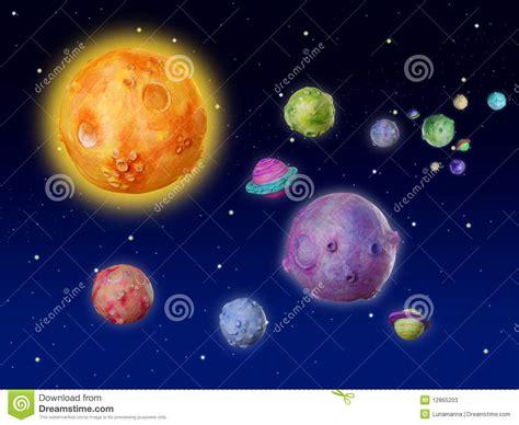imagenes del universo y planetas universo hecho a mano de la fantas 237 a de los planetas del