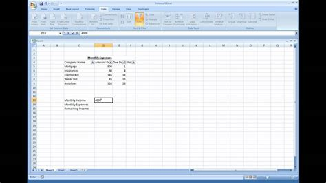 Financial Planning Spreadsheet by Excel Spreadsheet For Financial Planning Buff