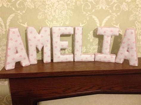 fabric covered letters for nursery 115 best alphabet craft fabric covered letters images on