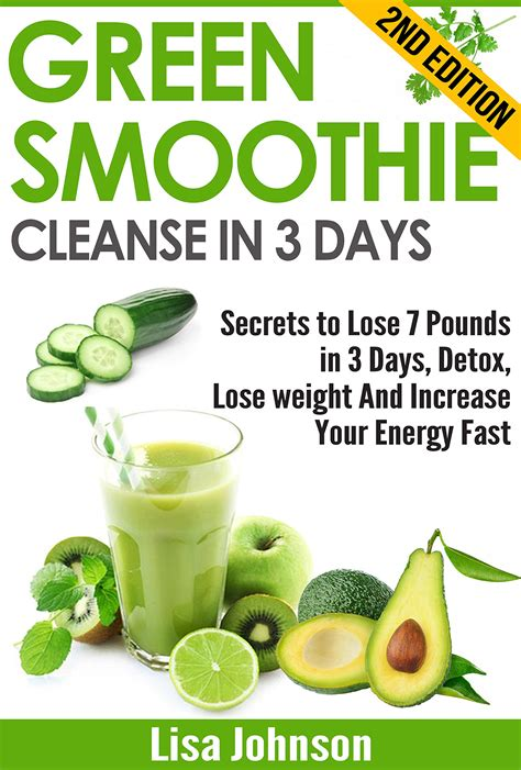 7 Day Green Smoothie Detox Recipes by Detox Smoothie Recipes For Weight Loss