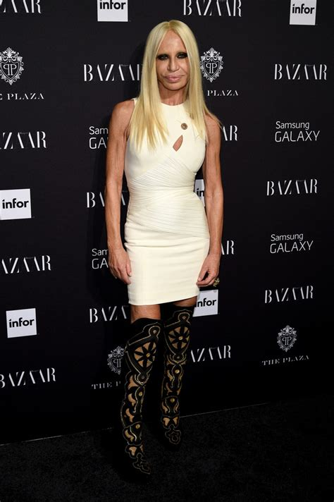 Donatella Versace Mini Dress   Donatella Versace Clothes