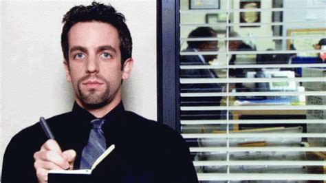 Howard The Office by Howard Taking Notes The Office Gif Theoffice