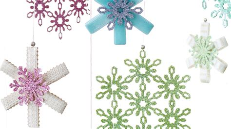 martha stewart white christmas ornaments 17 snowflake ornaments that ll guarantee a white martha stewart