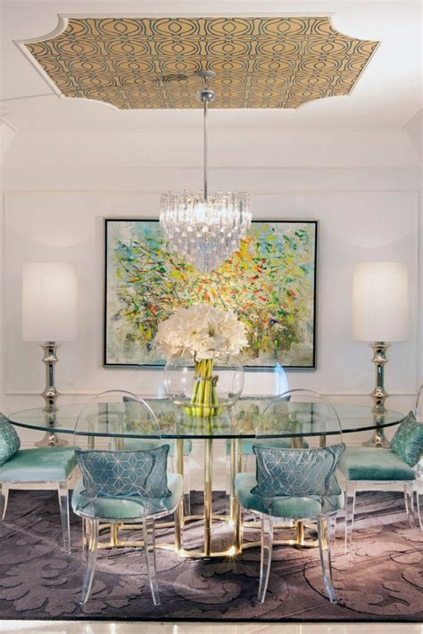Ceiling Lights For Dining Table Acrylic Dining Table Room Eclectic With Molding Traditional Flush