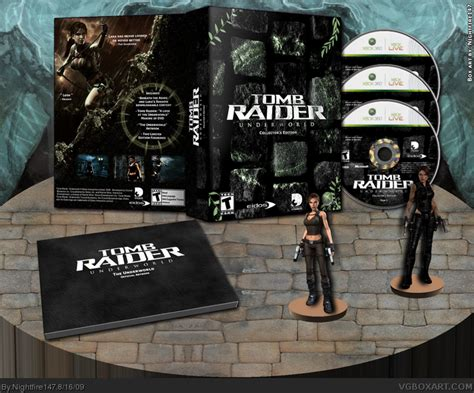 underworld editions cover images tomb raider underworld collector s edition xbox 360 box art cover by nightfire147