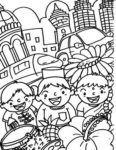 doodlebug ekşi coloring book for s malaysia coloring page