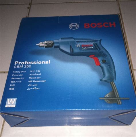 Mesin Bor Gbm 16 2 Re Bosch jual mesin bor bosch gbm 350 professional variable speed reversible tech