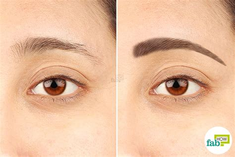 Get Eyebrows by How To Grow Thicker And Attractive Eyebrows Fab How