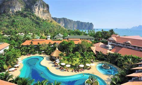 Aonang villa resort beachfront resort on aonang beach krabi thailand