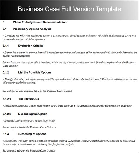 a business template business template free word pdf documents