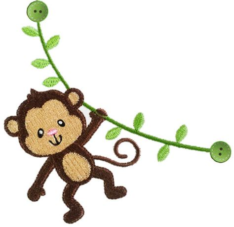 embroidery design gorilla instant download monkey filled stitches machine embroidery