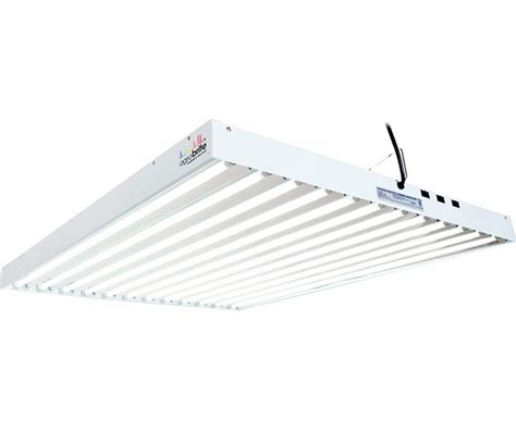 10 Bulb T5 Fixture - agrobrite fluorescent grow light t5 4ft 12 fixture