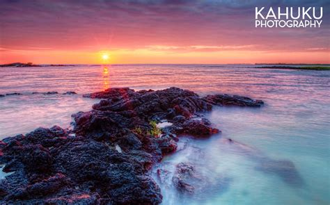 hawaii photography ai opio fishtrap sunset hawaii landscape photography