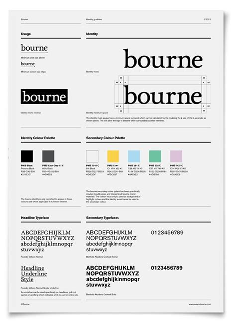 Bourne Minimal Style Guide Branding Pinterest Design Och Inspiration Bourne Identity Style Free After Effects Template