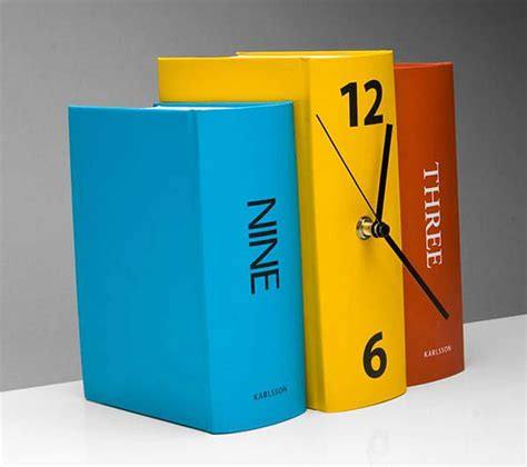 clocks a novel books colorful playful table clock book by karlsson clocks