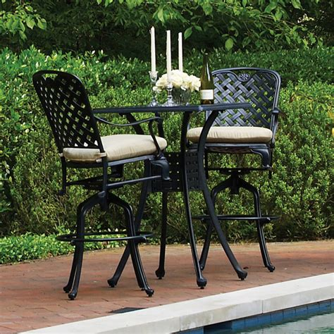 Patio Furniture Bar Height Set Bar Height Patio Sets Patio Design Ideas