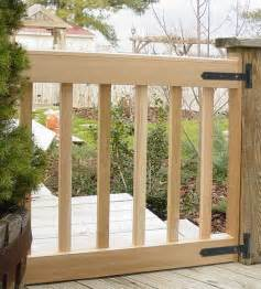 custom deck gates in your size amp slat spacing cedar gates usa made
