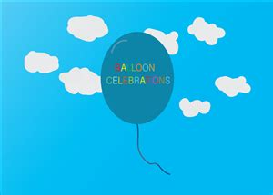 logo design for balloon celebrations by poisonvectors business logo design for balloon celebrations by amit arts