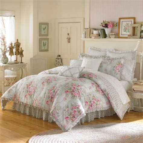 vintage chic bedding vintage chic eliza queen comforter complete 8pc bedding