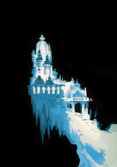 Frozen Castle frozen castle elsa of