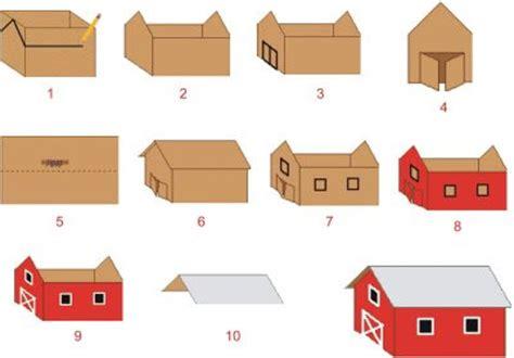 cara membuat rumah ayam dari kardus baru 20 contoh miniatur rumah dari kardus 21rest com