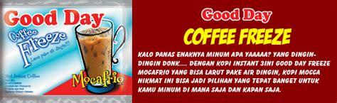 Day Coffee Freeze 10x30g kopi instan cappuccino day kopi gaul paling enak catatan madz