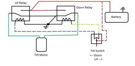 tilt trim switch wiring diagram wiring diagram with