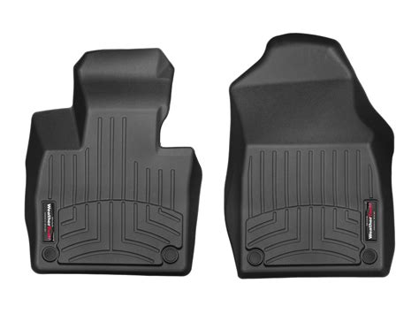 weathertech floor mats floorliner for volvo xc90 2016 2017 1st row black ebay
