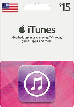 International Itunes Gift Card - 15 us itunes gift card hot4cards