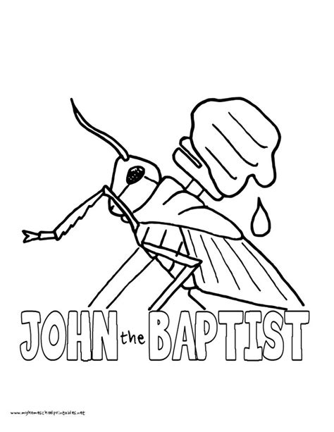 coloring pages john the baptist 18 best john the baptist images on pinterest john the