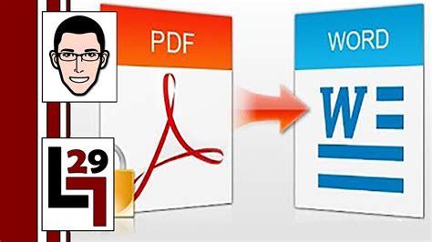 pasar imagenes pdf a word como pasar un archivo pdf a word o imagenes doovi