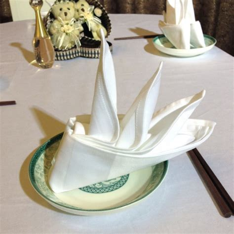 Table Napkin Origami - 40 most creative table napkin folding ideas to practice