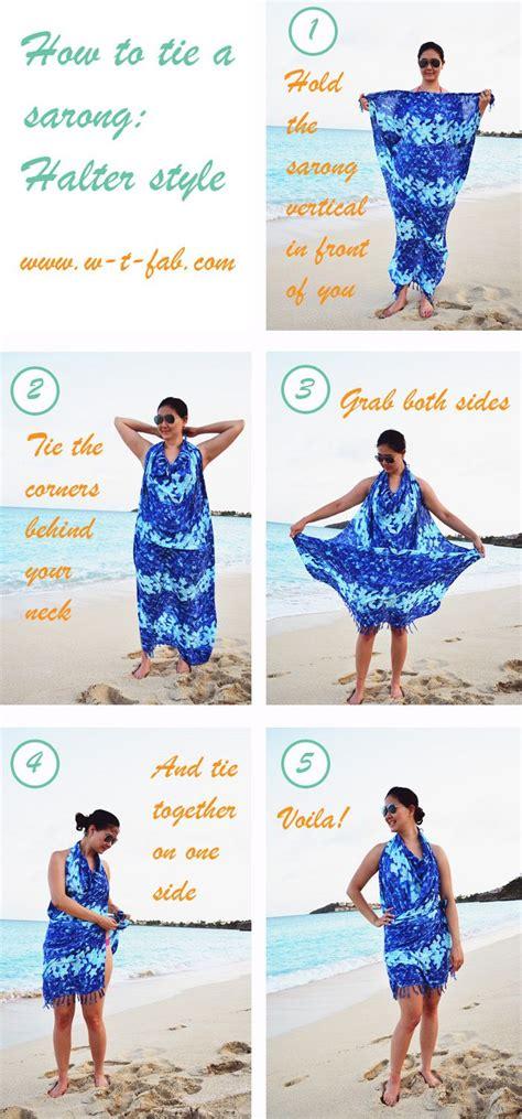 how to drape a sarong 25 best ideas about sarong tying on pinterest sarong
