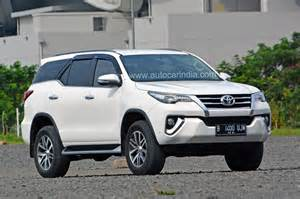 new fortuner car new toyota fortuner spied in india autocar india