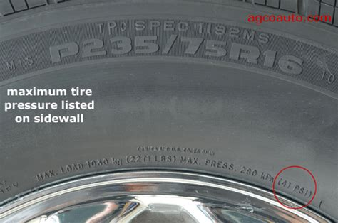 what is the proper tire pressure for a boat trailer number on the sidewall myth nitrogen tire inflation blog