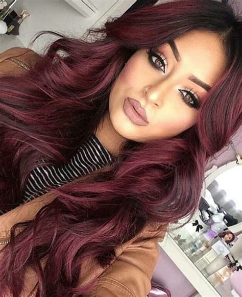 burgundy hair color pictures apexwallpapers burgundy hair color pictures apexwallpapers